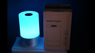 Rechargeable Bedside Mood Lamp under $22