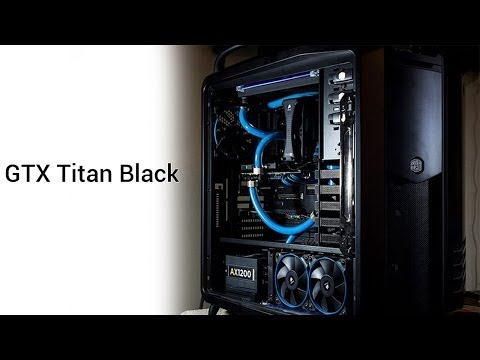 Draining your loop without a drain AND GTX Titan Black Loop Fill!
