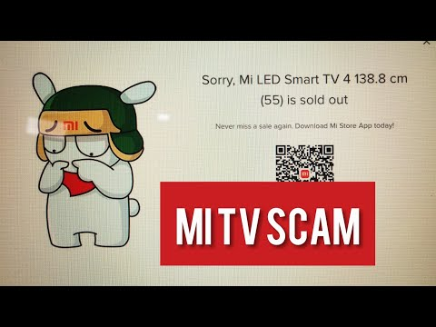Mi led Tv Scam✅| Realtime Scam | Buying from 3 devices at 12:00 Noon