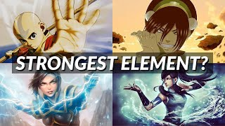 Whats the most powerful element? - Avatar: The Last Airbender
