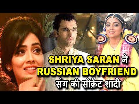 Shriya Saran Marriage Exclusive   Shriya Saran Getting Ready For Marriage With Russian Boyfriend