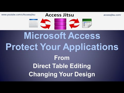 Microsoft Access Protect Your Applications