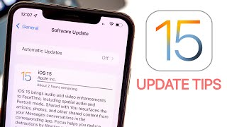 How to Update to iOS 15 - Tips Before Installing!