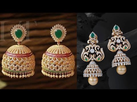 Latest Light Weight New Model Earring Designs - She Fashion