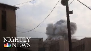 Syrian Government Intensifies Bombing Campaign On Damascus Suburb | NBC Nightly News