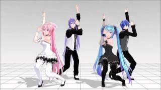 MMD] Jumping at Shadows (疑心暗鬼) - Gakupo, Luka, KAITO