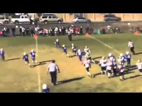Amazing 9yr OLD Girl Dominates YOuth Football League