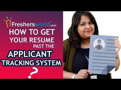 How To Get Your Resume Past the Applicant Tracking System? - ATS, Beat the Robots