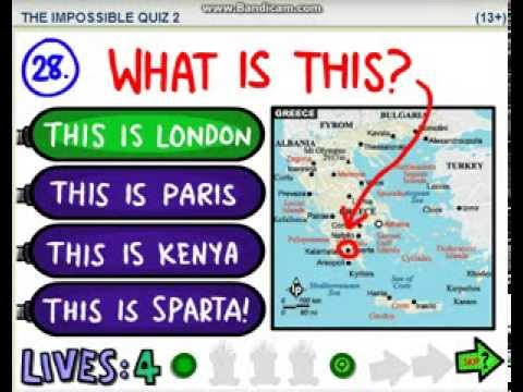 The Impossible Quiz 2 (level 45)