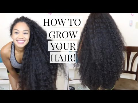 How to Grow Your Hair Faster and Longer! | My Advice & Tips