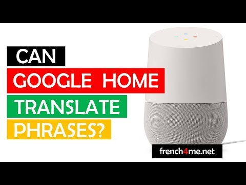 Can #Googlehome translate phrases # Let's explore the limits # Part 10