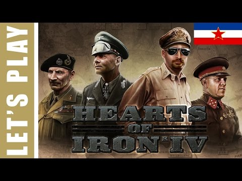 Hearts of Iron 4 - Yugoslavia Ep.16 Manpower LOW!