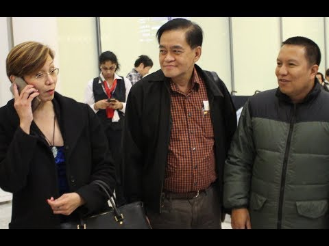 Philippine Officials in Toronto for Launch of Workers Training Centre