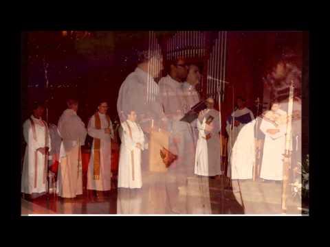 Farewell Mass for Fr  Tesfai at OLL in Verona, NJ in 1983