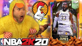 I turned into a CHICKEN for LeBron James on NBA 2K20