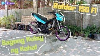 Ktech Swingarm Raider 150 FI Thai Concept Project