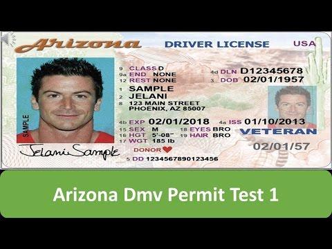 Arizona DMV Permit Test 1