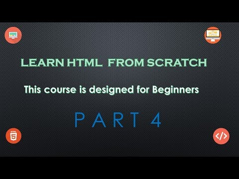 Part 4 HTML Heading and Formating