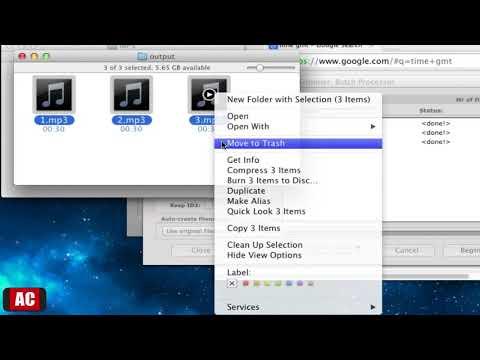 Batch Trim Mp3 Files on Mac-MP3 Trimmer