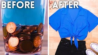 Unusually NATURAL Ways to Dye Your Clothes! | DIY Fashion Hacks by Blossom
