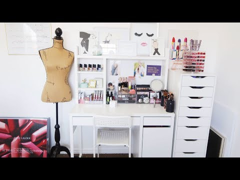 MAKEUP COLLECTION AND STORAGE 2017 | ALLIE G BEAUTY