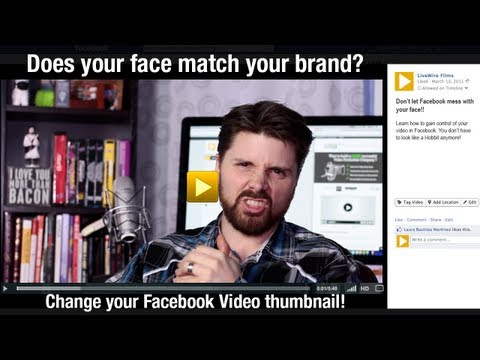 Facebook tip: How to change your video thumbnail | Video Production Minneapolis, St. Paul