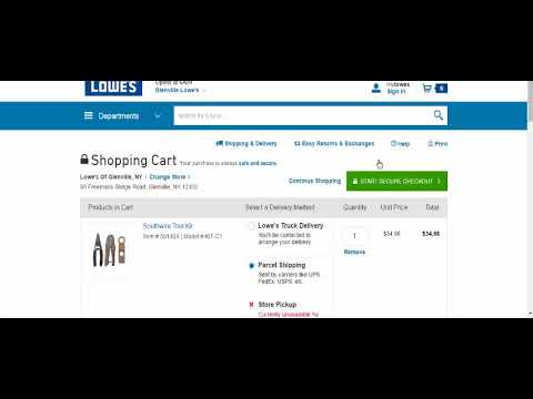 Lowes $20 off $100 Discount Code - Online Only - ebay