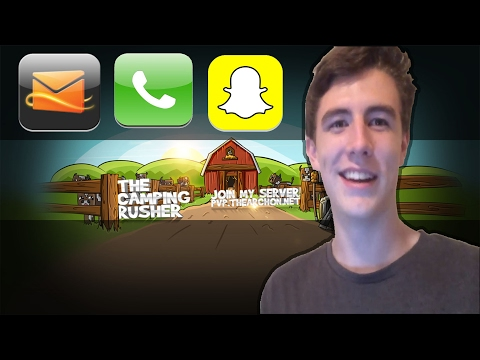 TheCampingRusher's Email, Phone Number, and SnapChat!!!