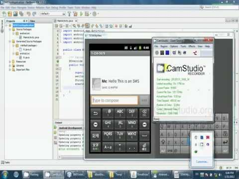How to Send SMS using Android ( Method 1 )