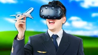 Virtual Reality Air Traffic Controller! - Final Approach Gameplay - Virtual Reality HTC Vive