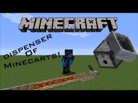 Minecraft : How to make Minecarts Run Faster ! [EASY]!