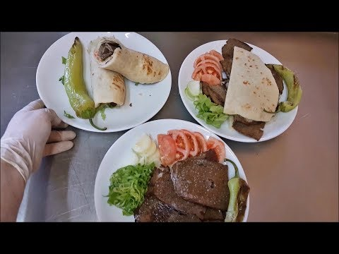 Ground Beef Doner Kebab Oven Homemade Time Lapse