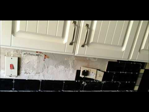 Tile a kitchen wall - Book now at RKF Professional Cleaning & Maintenance Services