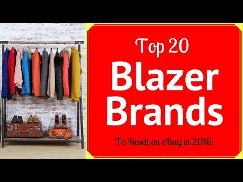 Top 20 Men's Blazer Brands that Sell on eBay for Big Money!