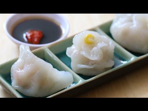 Shrimp Dumplings (HÁ CẢO / Har Gow in Dim Sum)