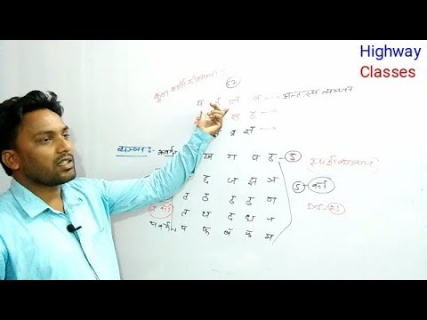 Special UP Police हिंदी वर्णमाला Part-1 by Sonu sir