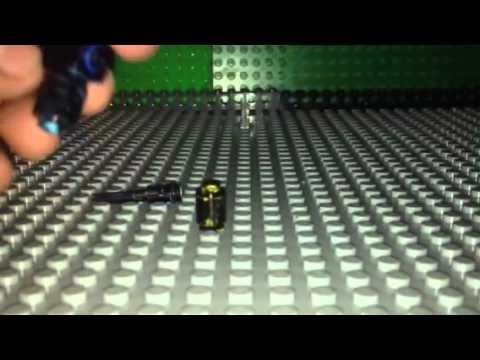 How to make a lego light machine gun