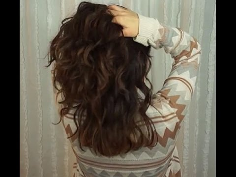 How I Style My Wavy Hair