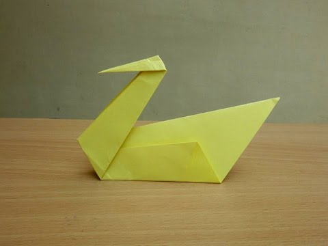How to Make a Paper Swan - Easy Tutorials