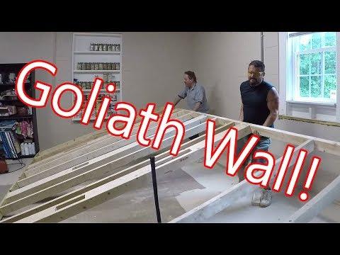 Framing A 10 Foot Goliath Wall!