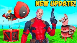 *NEW* DEADPOOL UPDATE IS HERE!! - Fortnite Funny Fails and WTF Moments! #871