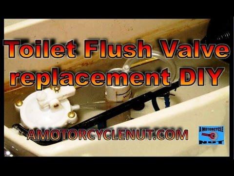 Toilet Flush Valve replacement. DIY