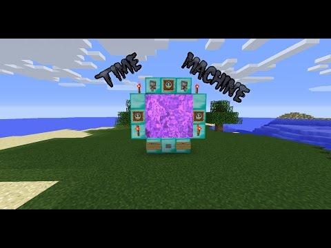 √ Minecraft:How to make a Decorative Time Machine