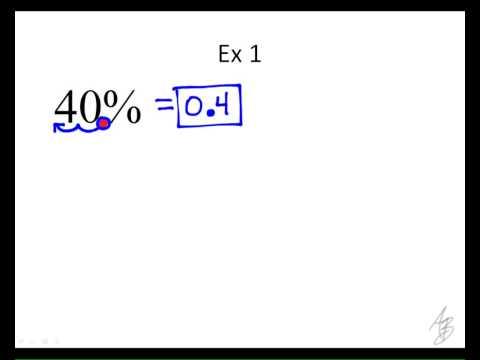 5.1.3 notes - converting fractions, decimals, and percents