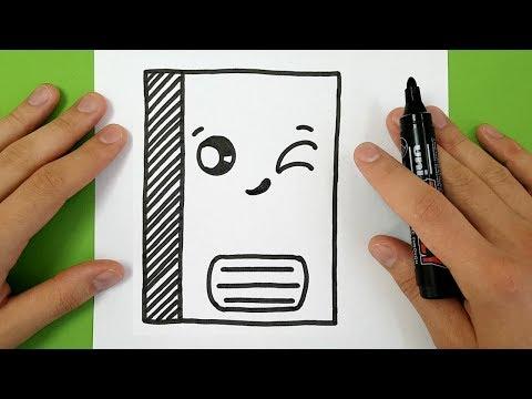 Comment Dessiner Un Cahier Kawaii Tuto Dessin Pakvim