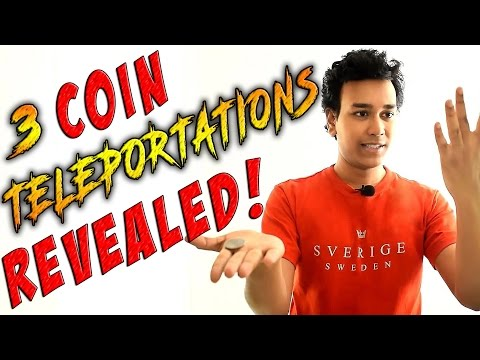 Coin Magic Revealed - Learn 3 Amazing Coin Tricks!