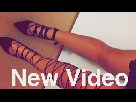 DIY Lace up Schnür High Heels I Marina Si