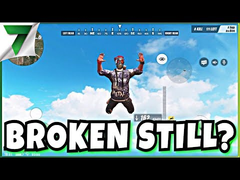IS THE GAME BROKEN?!? FIRST GAME IN MONTHS!   Rules of Survival