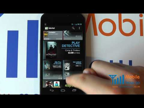 How To Download An App/Android Market/Google Play - Samsung Galaxy Nexus