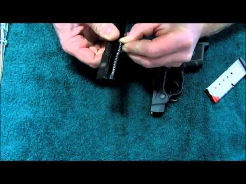 How to take apart Smith and Wesson Bodyguard 380